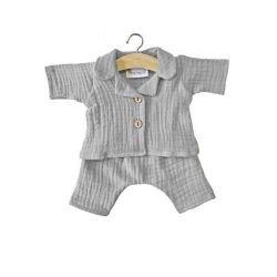 Pyjama pour poupée   Gris par Minikane