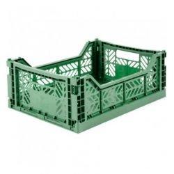 Caisse pliable Vert amande - Moyen par Lillemor