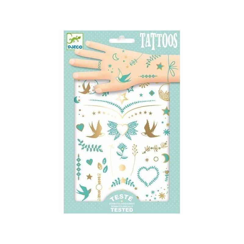 Tatouages éphémères | Les bijoux de lily par Djeco