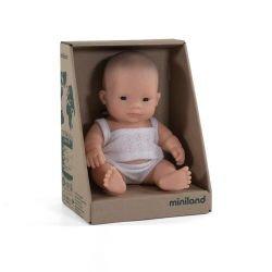 Mini poupée Asiatique fille par Miniland dans sa boite
