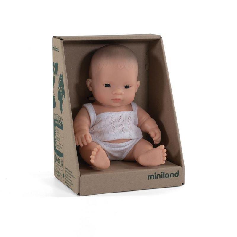 Mini poupée Asiatique fille par Miniland