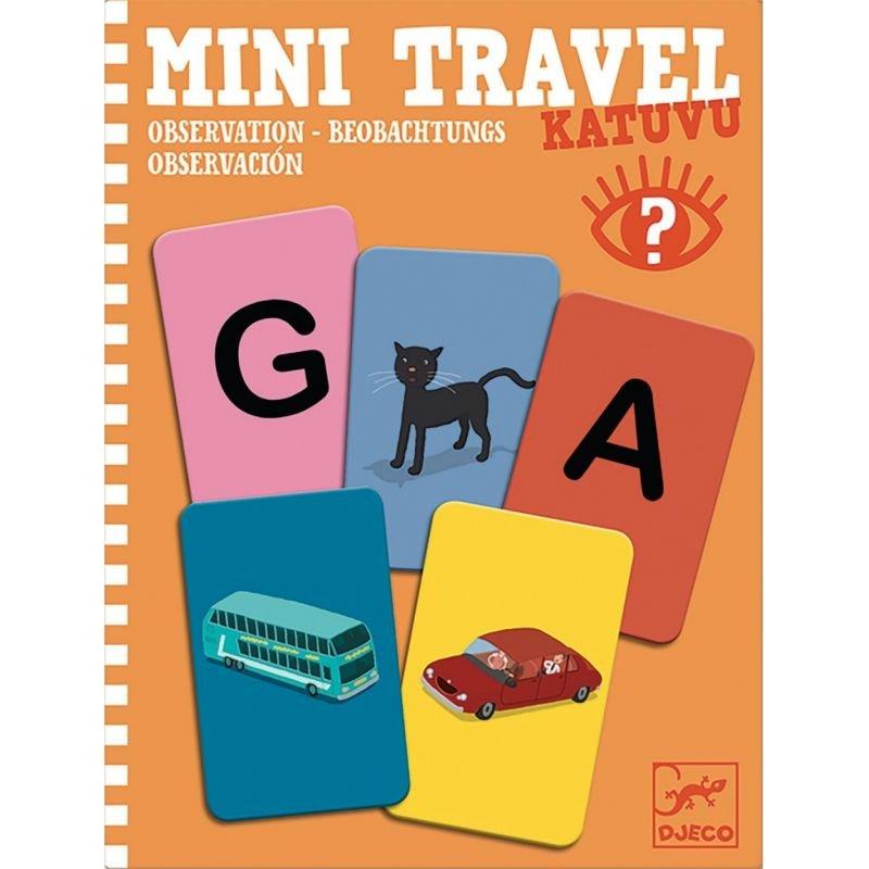 Mini Travel | Katuvu par Djeco Cartes