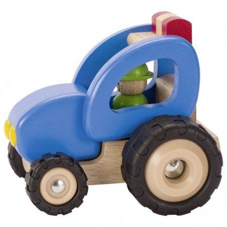 Tracteur en bois Goki