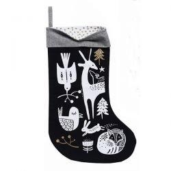 Chaussette de Noël | Noire forêt