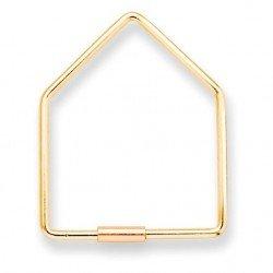 Porte clé en forme de maison
