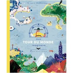 Mon tour du monde imaginaire par Albin Michel couverture