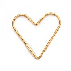 Porte cle en forme de coeur