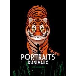 Portraits d'animaux par Albin Michel couverture