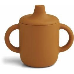 Tasse à bec silicone | Moutarde par Liewood