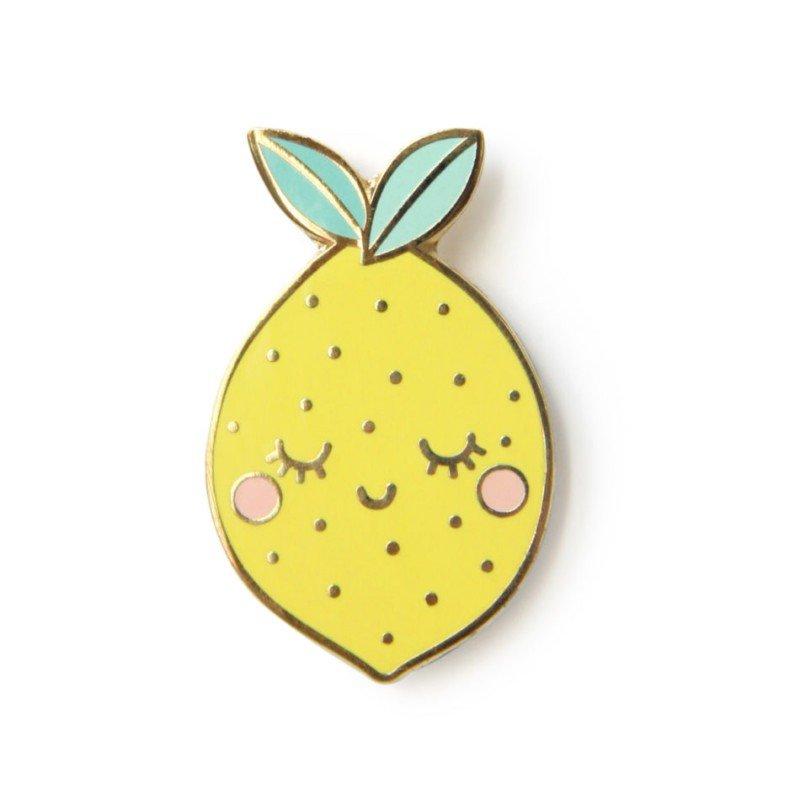 Pin's citron par Zü