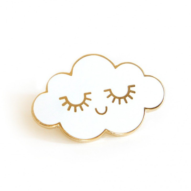 Pin's nuage par Zü