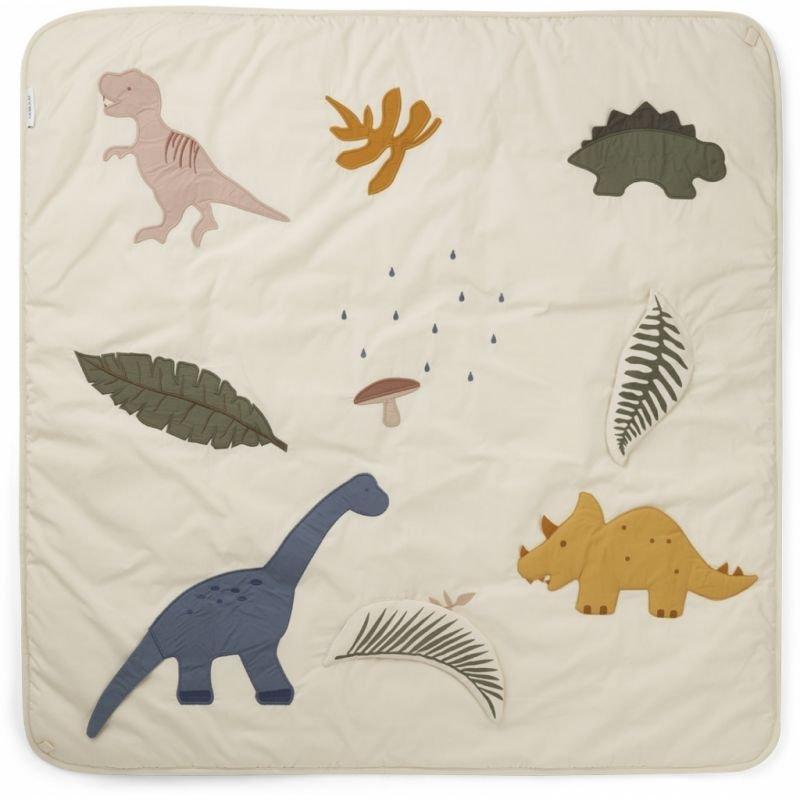 Tapis d'éveil   Dinosaure beige