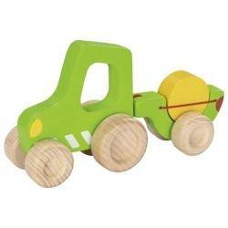 Petit tracteur avec remorque