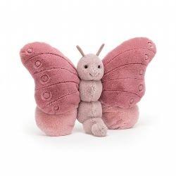 Doudou papillon rose par Jellycat