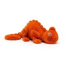 Doudou caméléon | Orange par Jellycat