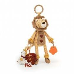 Lion d'activités cordy par Jellycat