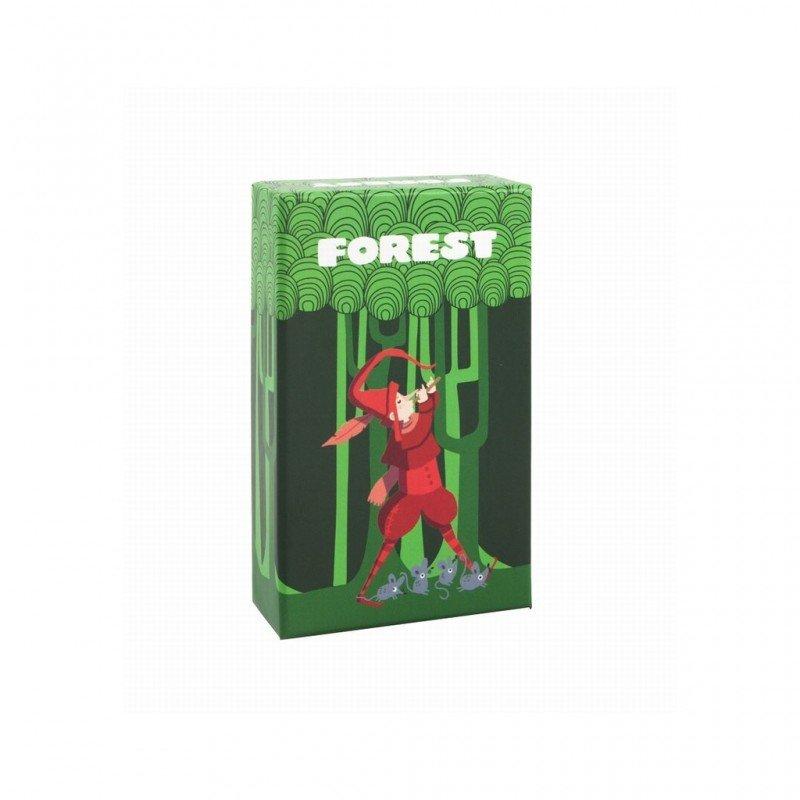 Jeu de cartes forest et son contenu