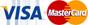 Carte Bleue, Visa & Mastercard