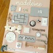 Vous me le réclamez depuis un moment, ça y est, l'article sur la planche d'activités reçue par Madeleine pour ses 2 ans est en ligne. Retrouvez la en détails et en photos sur le blog little-cecile.com/blog 😊 Je serais ravie que cela inspire d'autres planches ❤️ #planchedactivites #busyboard #montessori #motricitefine #diy #diyenfant